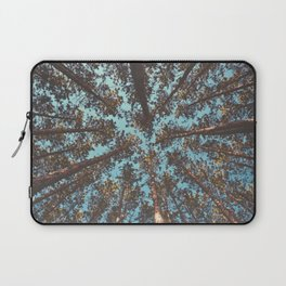 Turquoise Tree Forest Sky Laptop Sleeve