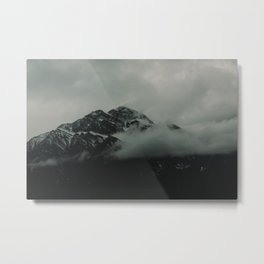 Misty Mountains in Canada Metal Print