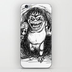 King Gambler  iPhone & iPod Skin