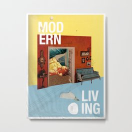 Modern Living  Metal Print