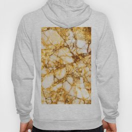 Gold marble pattern Hoody