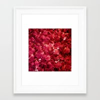 ruby Framed Art Prints featuring Ruby by Lotus Effects