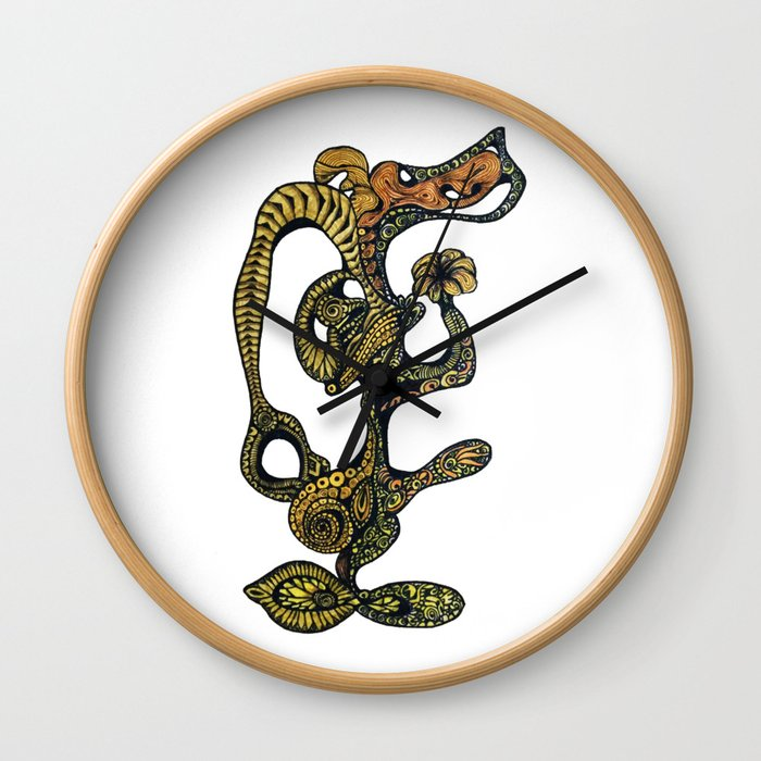 Primordial Life Wall Clock