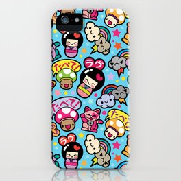 Harajuku Love iPhone Case
