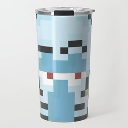 Squidward Pixels Travel Mug