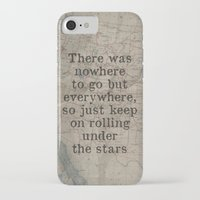 kerouac iPhone & iPod Cases featuring Jack Kerouac by RedPaintedWreck