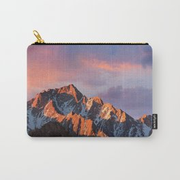 Snowy Mountain Sky Landscape Carry-All Pouch