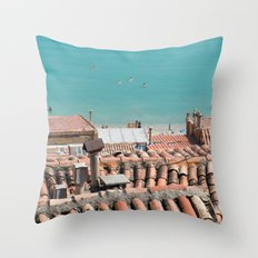 Everything's here Throw Pillow