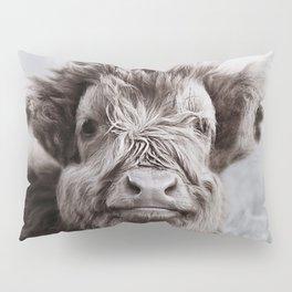 HIGHLAND CATTLE CALF ALF Pillow Sham