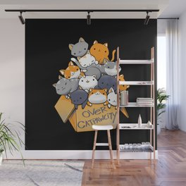 Over Catpawcity Wall Mural