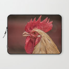 red and white hen coq Laptop Sleeve