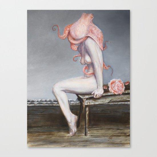 Encephalopoda Canvas Print