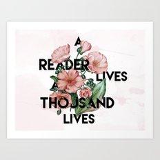 A Reader Art Print