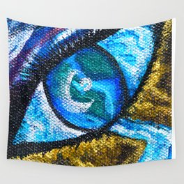 Beyond Humanity - Mazuir Ross Wall Tapestry