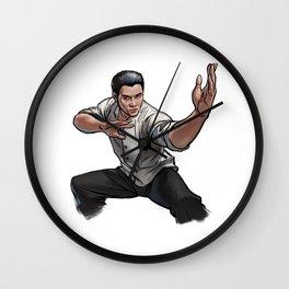 Jet Li Wall Clock