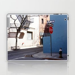 Colorful Street, Greenwich Village NYC Laptop & iPad Skin