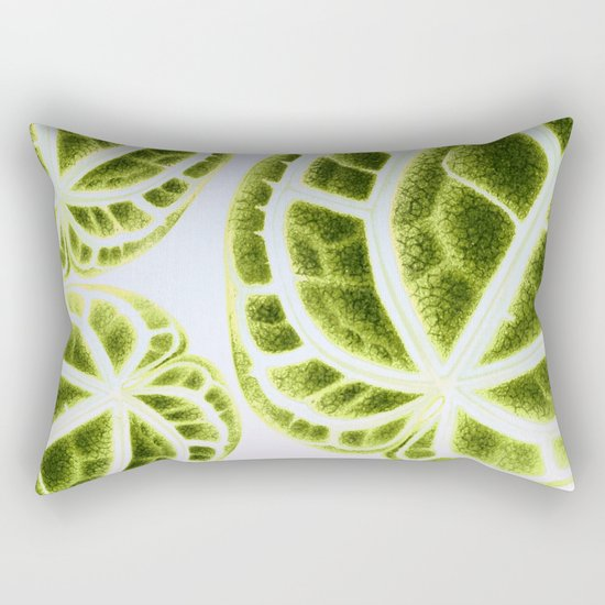 houseplant green Rectangular Pillow