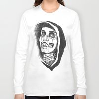 day of the dead Long Sleeve T-shirts featuring Dead by Omar Guzman