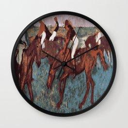 JOCKEYS Pop Art Wall Clock