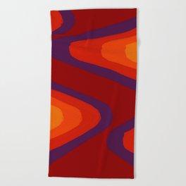Wavelength Beach Towel
