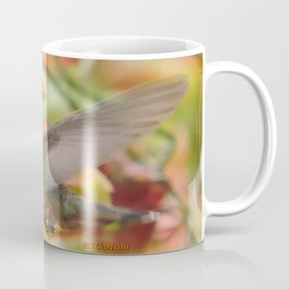Little Ms. Hummingbird in for More Licks Coffee Mug