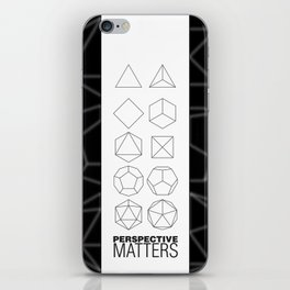 Perspective Matters iPhone Skin