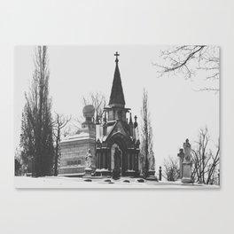 Gothic Beauty Canvas Print
