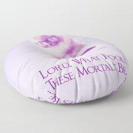 Fools -Illutrative- Floor Pillow