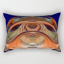 Turned to Glass Rectangular Pillow