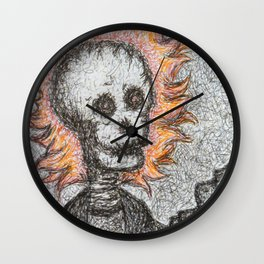 Ghost Ryder Wall Clock