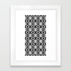 Black and White 2 Framed Art Print
