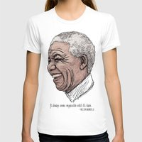 mandela T-shirts featuring Mandela by Fortissimo6