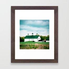 Barn in Pennington Framed Art Print