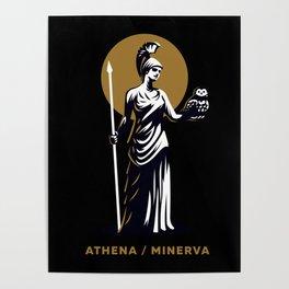 Athena / Minerva Poster