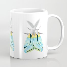 Blue Moth Coffee Mug