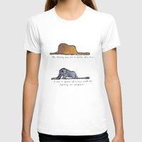 le petit prince T-shirts featuring Monoprinting Le Petit Prince by Devin Sullivan
