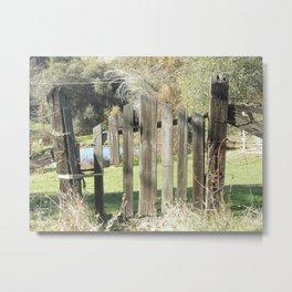 Past is Present 14 Metal Print