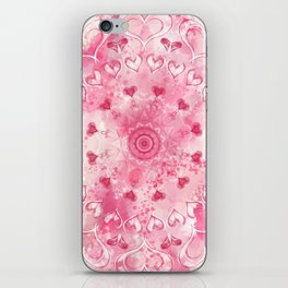 """The Suitor's Plea"" Kaleidoscope 5 by Angelique G. @FromtheBreathofDaydreams iPhone Skin"