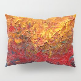 Bright Abstract Oil Pillow Sham