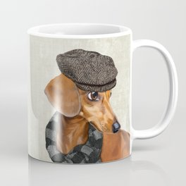 Elegant Mr. Dachshund Coffee Mug