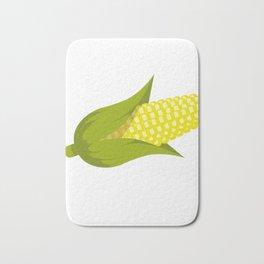 Corn star Shirt yellow corny Cob raining Popcorn Bath Mat
