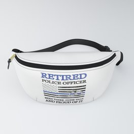 Retired Police Officer | Policeman Retirement Cop Fanny Pack