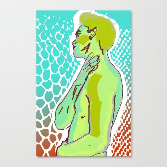 Snake Charmers Season2-04 Canvas Print