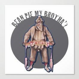 """Bean Pie My Brotha"""" Canvas Print"""