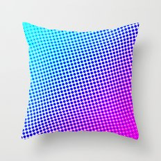 80's grade mag Throw Pillow