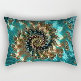 Aqua Supreme Rectangular Pillow