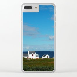 A beach house in Donegal Clear iPhone Case