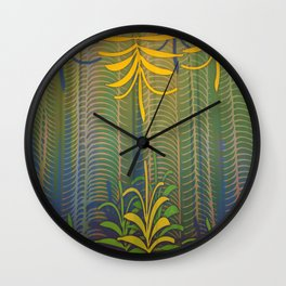 Inner Paradise / Encounter Wall Clock