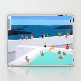 Santorini sun Laptop & iPad Skin