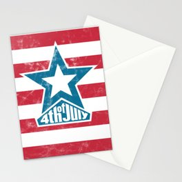 Happy 4th of July - independence day Stationery Cards